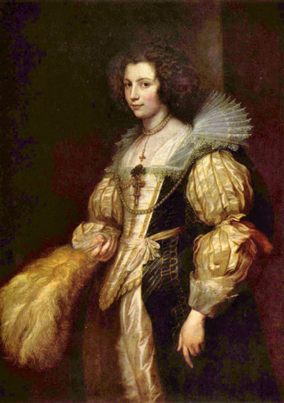 Antoon van Dyck Portrait of Marie-Louise de Tassis