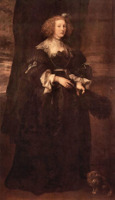 Antoon van Dyck Portrait of Marie de Raet