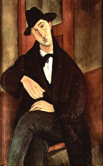 Amedeo Clemente Modigliani Portrait of Mario Varfogli