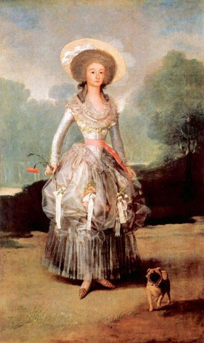 Francisco Goya Portrait of Marquesa de Pontejos y Sandoval