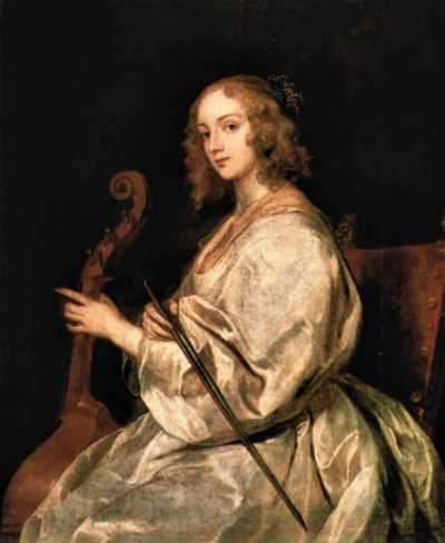 Antoon van Dyck Portrait of Mary Ruthven