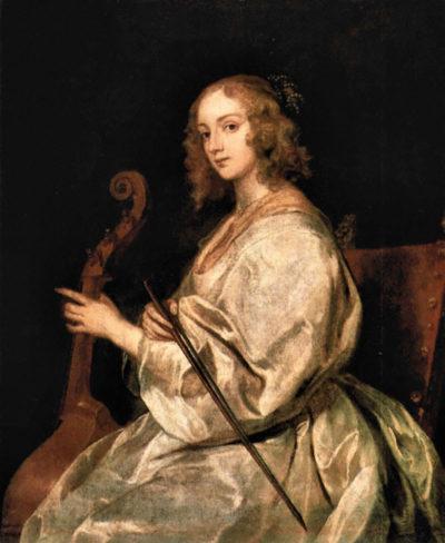 Antoon van Dyck Portrait of Mary Ruthven