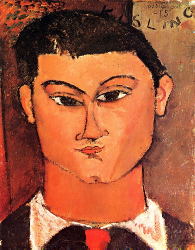Amedeo Clemente Modigliani Portrait of Moise Kisling
