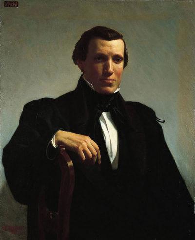 William-Adolphe Bouguereau Portrait of Monsieur M