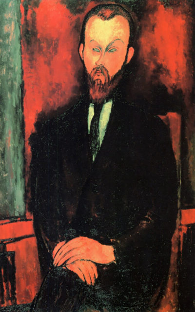 Amedeo Clemente Modigliani Portrait of Mr Wielhorski