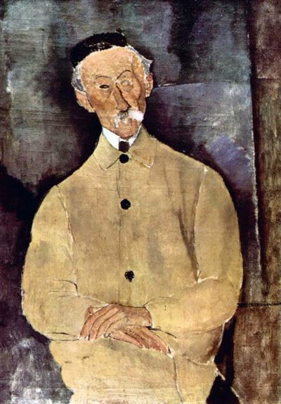 Amedeo Clemente Modigliani Portrait of Mr. Lepoutre