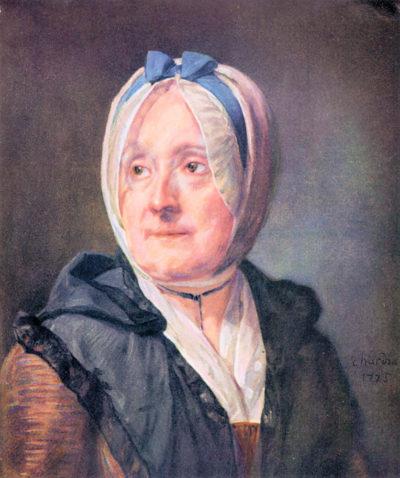 Jean Chardin Portrait of Mrs Chardin