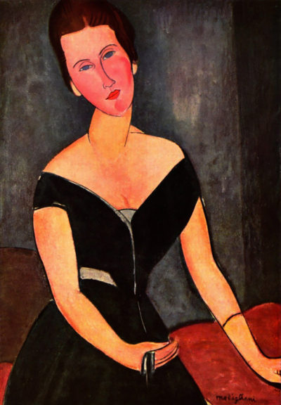 Amedeo Clemente Modigliani Portrait of Mrs van Muyden