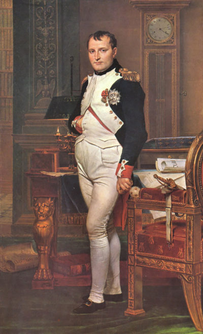 Jacques-Louis David Portrait of Napoleon in his work room