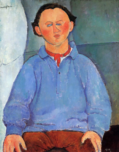 Amedeo Clemente Modigliani Portrait of Oskar Miestchaninoff