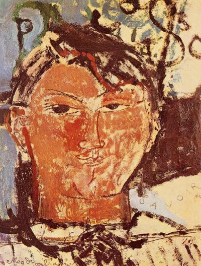 Amedeo Clemente Modigliani Portrait of Pablo Picasso