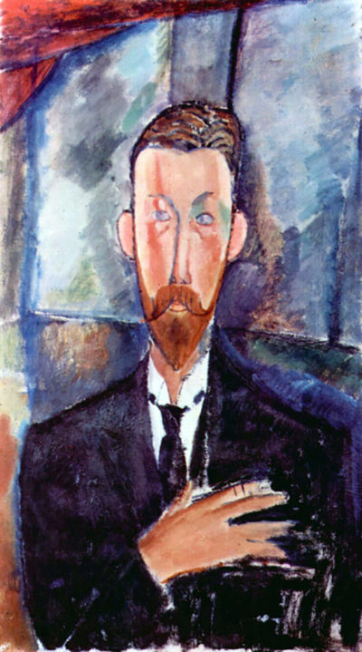 Amedeo Clemente Modigliani Portrait of Paul Alexandre