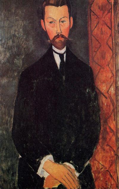 Amedeo Clemente Modigliani Portrait of Paul Alexandre
