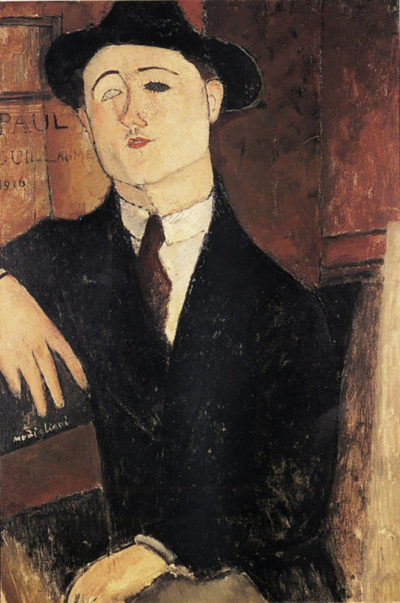 Amedeo Clemente Modigliani Portrait of Paul Guillaume