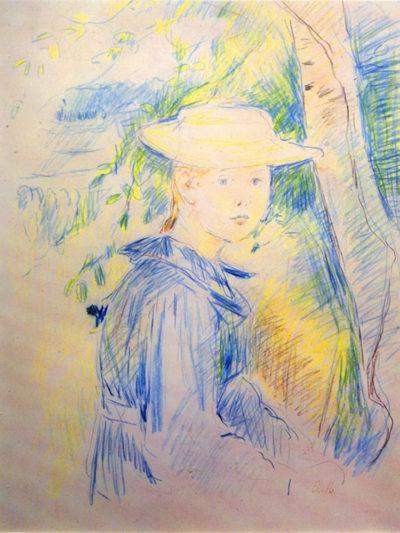 Berthe Morisot Portrait of Paule Gobillard