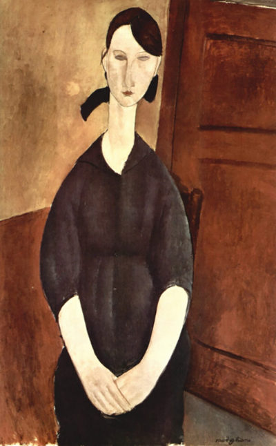 Amedeo Clemente Modigliani Portrait of Paulette Jourdain