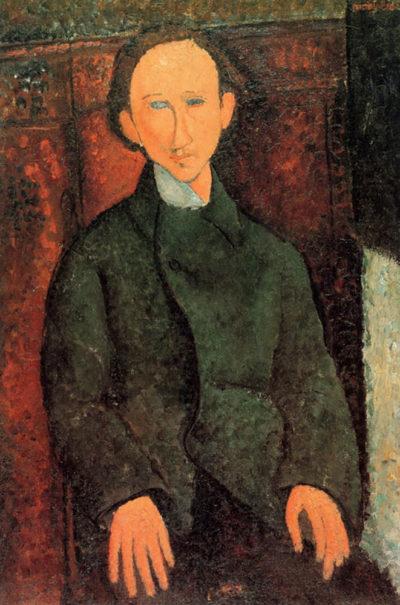 Amedeo Clemente Modigliani Portrait of Pinchus Kremegne