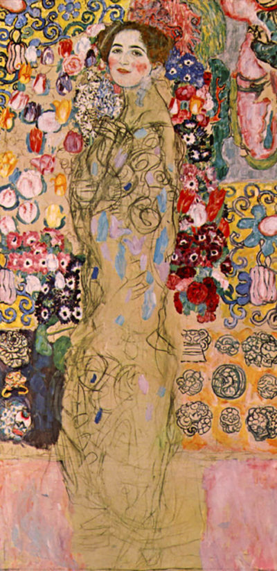 Gustav Klimt Portrait of Ria Munk III