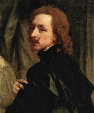 Antoon van Dyck Portrait of Sir Endimion Porter and self-portrait
