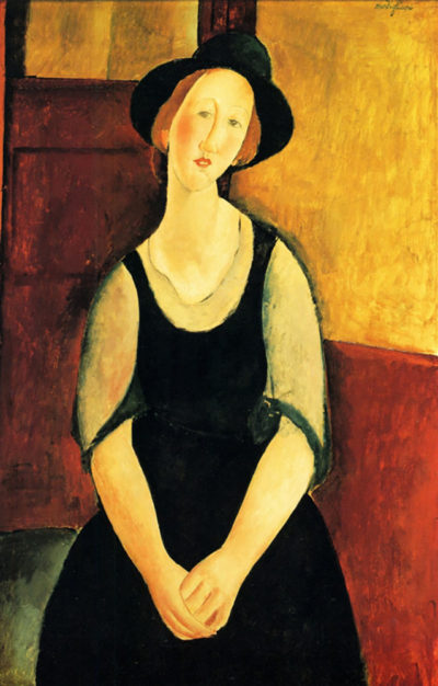 Amedeo Clemente Modigliani Portrait of Thora Klinckowstroem