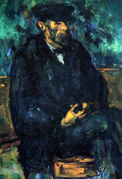 Paul Cézanne Portrait of Vallier