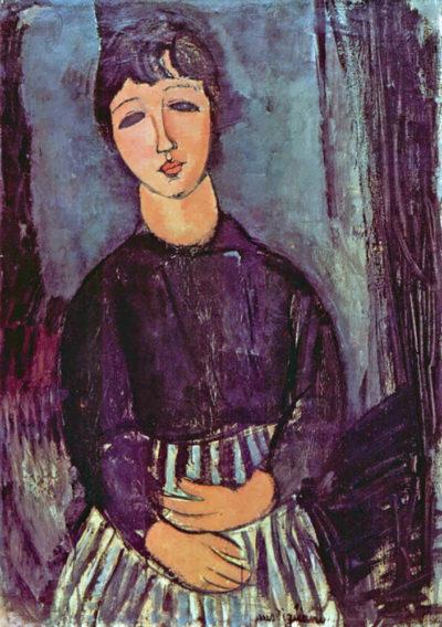 Amedeo Clemente Modigliani Portrait of Zofe