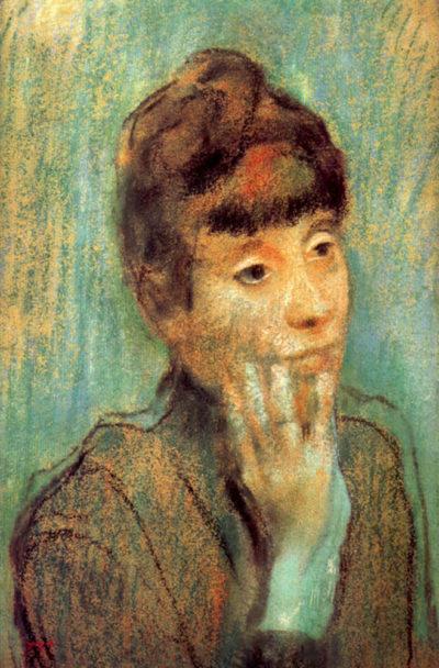 Edgar Degas Portrait of a Lady