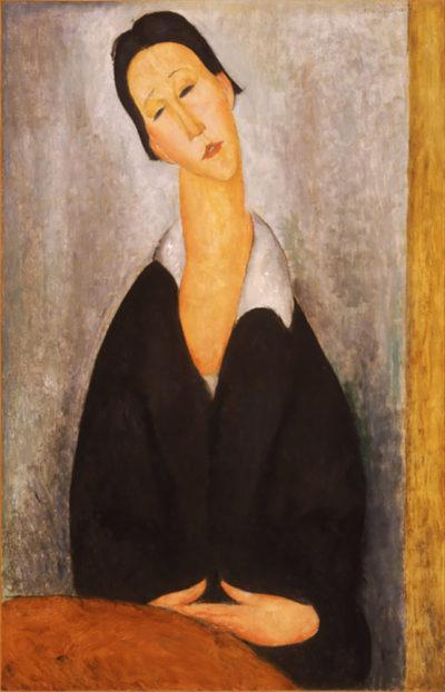Amedeo Clemente Modigliani Portrait of a Polish woman