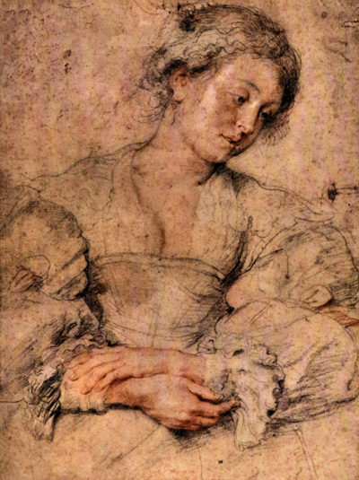 Peter Paul Rubens Portrait of a young woman