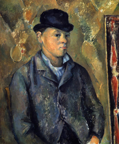 Paul Cézanne Portrait of his son Paul Cézanne