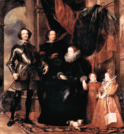 Antoon van Dyck Portrait of the Lomellini family