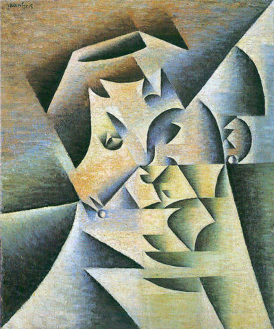 Juan Gris Portrait of the mother of the artist