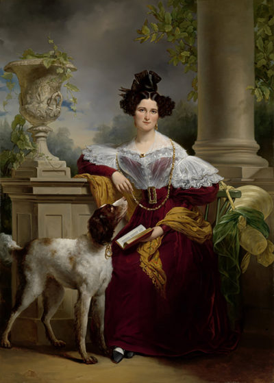 Jan Adam Kruseman Portrait of Alida Christina Assink