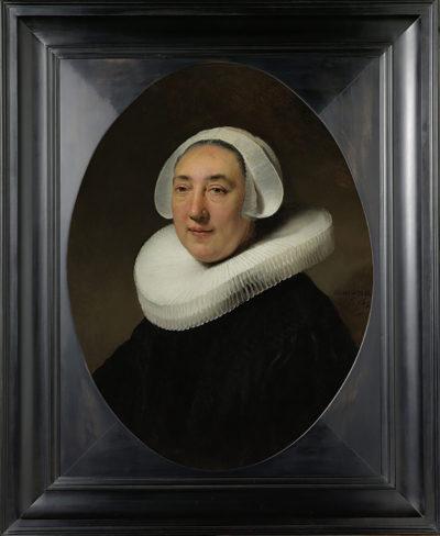 Rembrandt Harmensz. van Rijn Portrait of Haesje Jacobsdr van Cleyburg