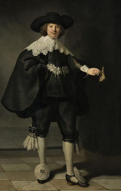 Rembrandt Harmensz. van Rijn Portrait of Maarten Soolmans