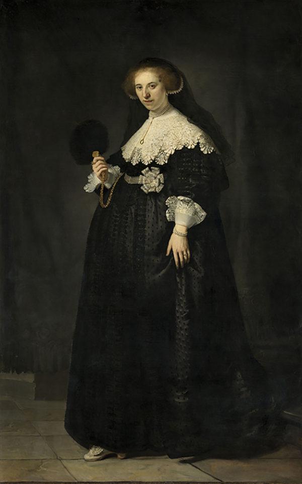 Rembrandt Harmensz. van Rijn Portrait of Oopjen Coppit
