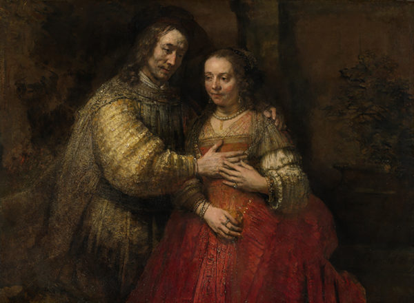 Rembrandt Harmensz. van Rijn Portrait of a Couple as Isaac and Rebecca