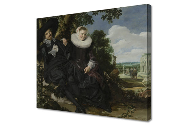 Probably Isaac Abrahamsz Massa and Beatrix van der Laen