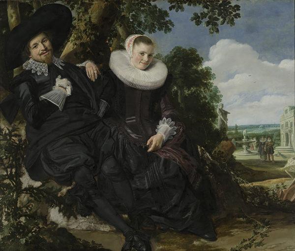 Frans Hals Portrait of a Couple