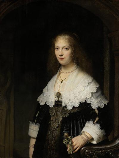 Rembrandt Harmensz. van Rijn Portrait of a Woman