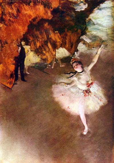 Edgar Degas Prima Ballerina