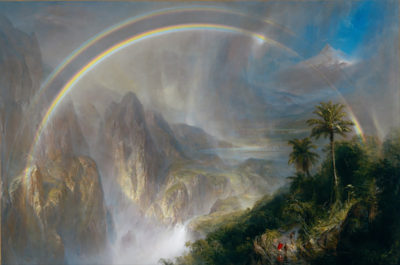 Frederic Edwin Church Rainy Season in the Tropics