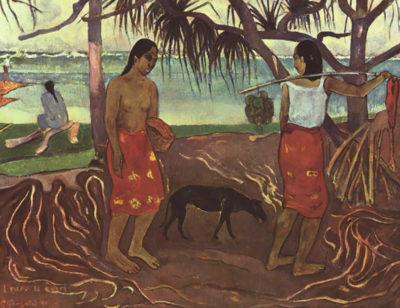 Paul Gauguin Raro Te Ouiri