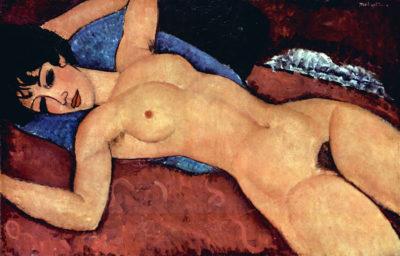 Amedeo Clemente Modigliani Reclining Nude