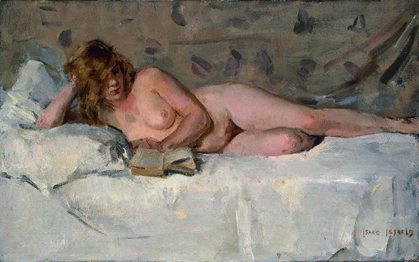 Isaac Israels Reclining Nude