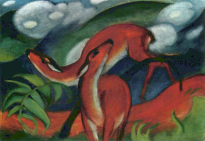 Franz Marc Red Deer II