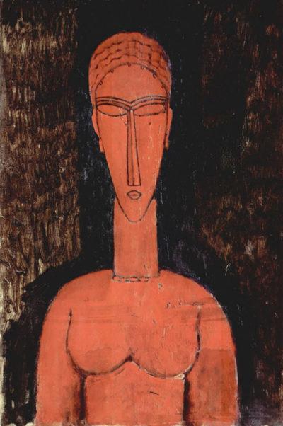 Amedeo Clemente Modigliani Red breasts