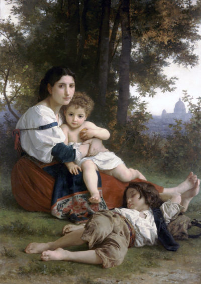 William-Adolphe Bouguereau Rest