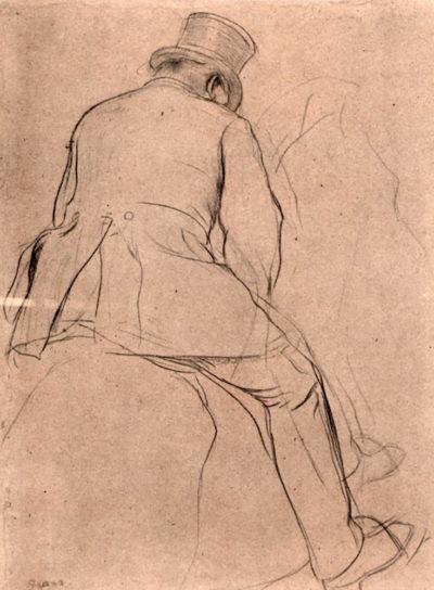 Edgar Degas Rider