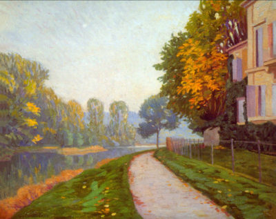 Gustave Cailliebotte Riverbank